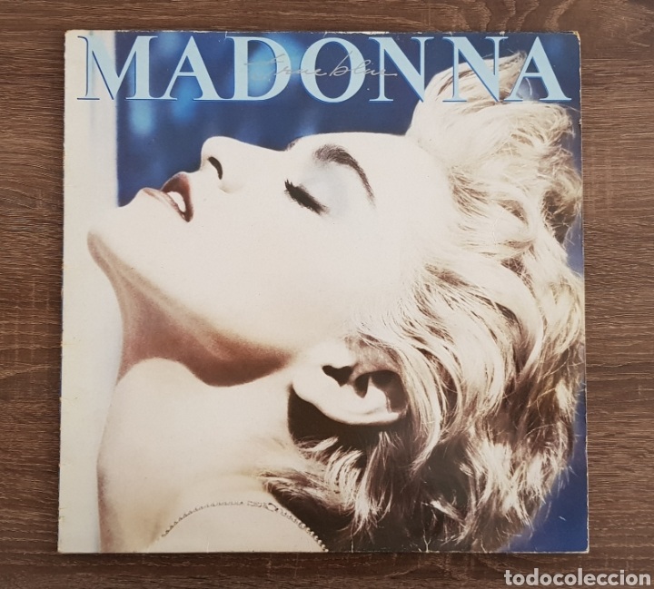 MADONNA TRUE BLUE DISCO VINILO 1986 LP CON ENCARTE (Música - Discos - LP Vinilo - Pop - Rock - New Wave Extranjero de los 80)