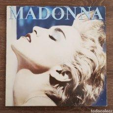 Discos de vinilo: MADONNA TRUE BLUE DISCO VINILO 1986 LP CON ENCARTE. Lote 175027988