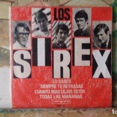 Discos de vinilo: ** LOS SIREX - LO SABES + 3 - EP AÑO 1966 - LEER DESCRIPCIÓN. Lote 175028808
