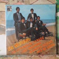 Discos de vinilo: ** LOS MUSTANG - LA LEYENDA DE XANADU + 3 - EP 1968 - LEER DESCRIPCIÓN. Lote 175029222