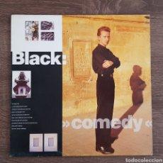 Discos de vinilo: BLACK COMEDY DISCO VINILO 1988 LP. Lote 175034110