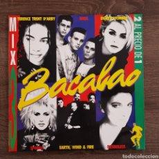 Discos de vinilo: BACALAO MIX 3 RECOPILACION AÑOS 80 DOBLE DISCO VINILO. Lote 175035923