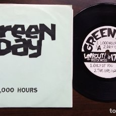 Discos de vinilo: EP 7'' GREEN DAY ?– 1,000 HOURS 1ST PRESSING , LAYTONVILLE ADDRESS. Lote 175042083
