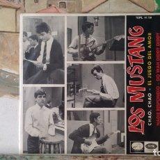 Discos de vinilo: ** LOS MUSTANG - CHAO, CHAO + 3 - EP AÑO 1965 - LEER DESCRIPCIÓN. Lote 175047987