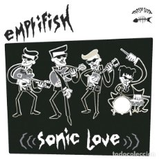 Discos de vinilo: EMPTIFISH SONIC LOVE LP . GARAGE PUNK ROCK AND ROLL THE DAMNED HEADCOATS. Lote 175048148