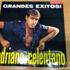 Discos de vinilo: LP ADRIANO CELENTANO GRANDES EXITOS EDITADOEN ESPAÑA POR VERGARA REF 31.6.001 E. Lote 175053025