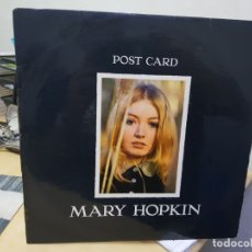 Discos de vinilo: MARY HOPKIN POSTCARD EDICION ORIGINAL STEREO COLECCIONISTAS . Lote 175065674