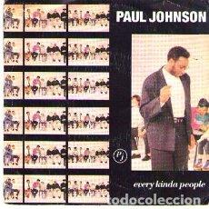 Discos de vinilo: DISCOS (PAUL JOHNSON). Lote 175073122