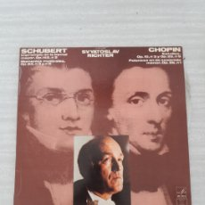 Discos de vinilo: SCHUBERT CHOPIN. Lote 175079540