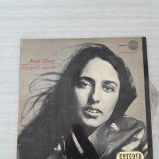 Discos de vinilo: JOAN BAEZ. Lote 175087390