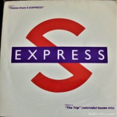 Discos de vinilo: THEME FROM S-EXPRESS - LEFT 21 - Ⓟ 1988 - ENGLAND / EX/EX. Lote 175065722