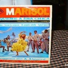 Discos de vinilo: MARISOL-BUSQUEME A ESA CHICA/LA LUNA Y EL TORO/SUENAN LAS CAMPANAS/MI PEQUEÑA ESTRELLA/TYPICAL SPANI. Lote 175099988