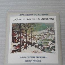 Discos de vinilo: CONCIERTOS DE NAVIDAD. Lote 175102590