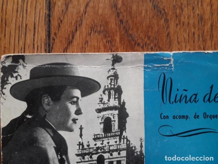 Discos de vinilo: Niña de Antequera - maria rosa de leon + ¡ay mi perro! + llego el florero + villancicos de calañ - Foto 2 - 175106209