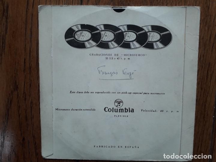 Discos de vinilo: Niña de Antequera - maria rosa de leon + ¡ay mi perro! + llego el florero + villancicos de calañ - Foto 3 - 175106209