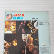 Discos de vinilo: JAZZ Y BLUES. Lote 175115028