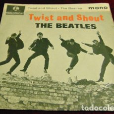 Discos de vinilo: THE BEATLES – TWIST AND SHOUT + 3 - EP 1963. Lote 175116218