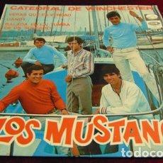 Discos de vinilo: LOS MUSTANG - CATEDRAL DE WINCHESTER + 3 - EP 1967. Lote 175116273