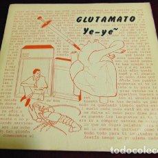 Discos de vinilo: GLUTAMATO YE-YÉ – CORAZÓN LOCO + 3 - EP DRO 1982. Lote 175116538