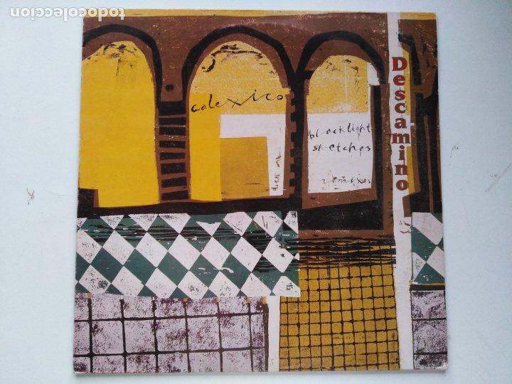 CALEXICO-DESCAMINO. BLACKLIGHT SKETCHES REMIXES (12'' MAXI. CITY SLANG.2000) CONEXION GIANT SAND (Música - Discos de Vinilo - Maxi Singles - Pop - Rock Extranjero de los 90 a la actualidad)