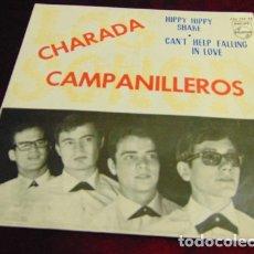 Discos de vinilo: LOS SONOR - CAMPANILLEROS + 3 - EP 1964. Lote 175118064