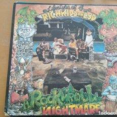 Discos de vinilo: RICH KIDS ON LSD ROCK N ROLL NIGHTMARE LP INSERTO. Lote 175126295