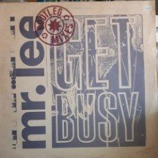 Discos de vinilo: MR.LEE -GET BUSY. Lote 175132503