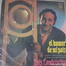 Discos de vinilo: LUIS LANDRISCINA - EL HUMOR DE MI PAÍS- 1976 - URUGUAY - CUENTOS SELECCIONADOS - RARO Y DIFÌCIL LP. Lote 175133225