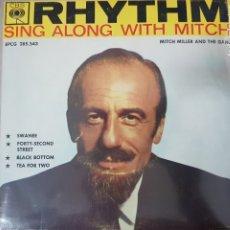 Discos de vinilo: MITCH MILLER AND THE BANG- RHYTHM SING ALONG WITH MITCH - EDITADO EN HOLANDA - RARO. Lote 175133870