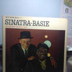 Discos de vinilo: LP FRANK SINATRA & COUNT BASIE : SINATRA-BASIE, AN HISTORICAL MUSICAL FIRST . Lote 175136772