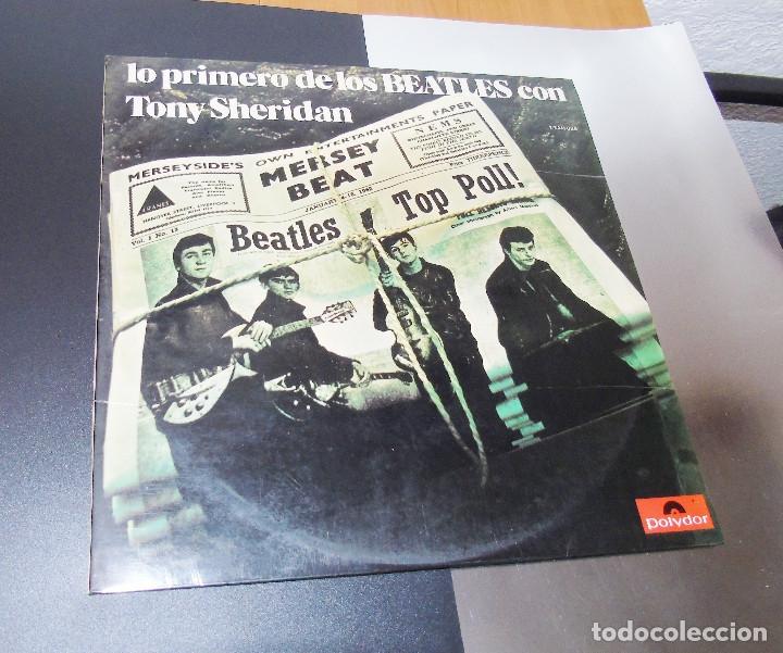 THE BEATLES & TONY SHERIDAN-----L.P. DOBLE- 21 TITULOS --- ***COL*** COMO NUEVO *** (Música - Discos - LP Vinilo - Pop - Rock Extranjero de los 50 y 60)