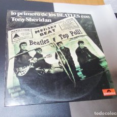 Discos de vinilo: THE BEATLES & TONY SHERIDAN-----L.P. DOBLE- 21 TITULOS --- ESPAÑA 1974 --NUEVO ***COL***. Lote 157768102