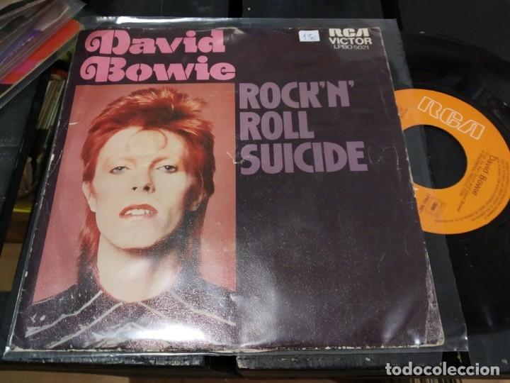 SINGLE DAVID BOWIE ROCK 'N ROLL SUICIDE (Música - Discos - Singles Vinilo - Otros estilos)