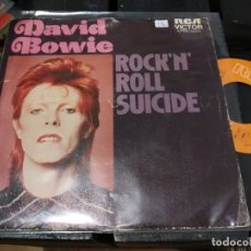 Discos de vinilo: SINGLE DAVID BOWIE ROCK 'N ROLL SUICIDE. Lote 175142552