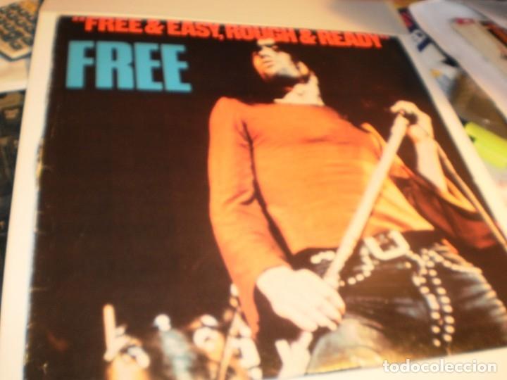 LP FREE & EASY, ROUGH & READY. FREE. ISLAND 1976 YUGOSLAVIA NUNCA EN TC (DISCO PROBADO, SEMINUEVO) (Música - Discos - LP Vinilo - Pop - Rock - Extranjero de los 70)