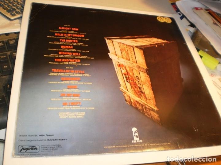 Discos de vinilo: lp free & easy, rough & ready. free. island 1976 yugoslavia nunca en TC (disco probado, seminuevo) - Foto 2 - 175142713