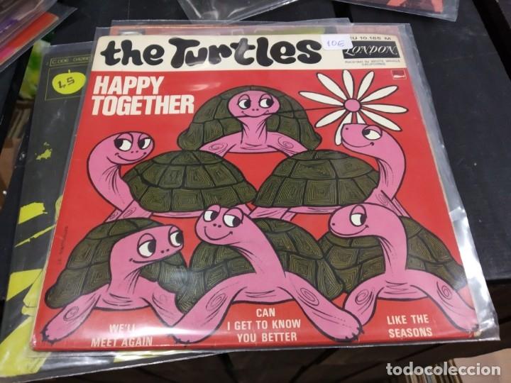 EP THE TURTLES HAPPY TOGETHER (Música - Discos - Singles Vinilo - Otros estilos)