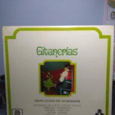 Discos de vinilo: LP GRUPO GITANO DEL SACROMONTE : GITANERIAS . Lote 175154199