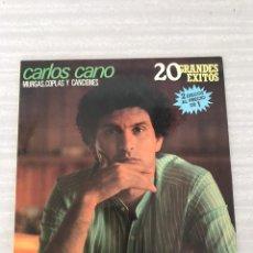 Discos de vinilo: CARLOS CANO. Lote 175156495