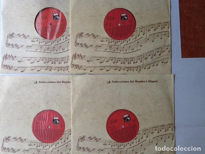 Discos de vinilo: L.P. VA PENSIERO, MELODÍAS INMORTALES DE G. VERDI. 8 DISCOS 33/ 1/3 RPM. NUEVOS. - Foto 3 - 175161508