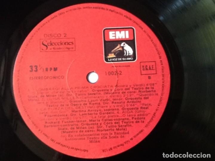 Discos de vinilo: L.P. VA PENSIERO, MELODÍAS INMORTALES DE G. VERDI. 8 DISCOS 33/ 1/3 RPM. NUEVOS. - Foto 6 - 175161508