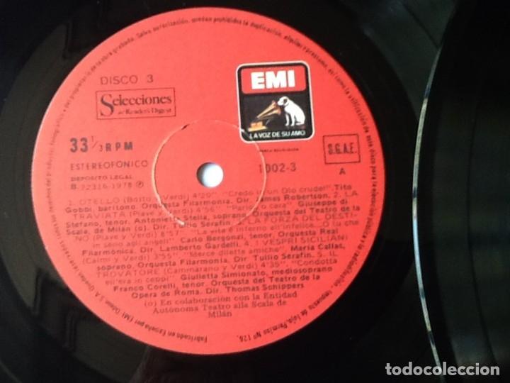 Discos de vinilo: L.P. VA PENSIERO, MELODÍAS INMORTALES DE G. VERDI. 8 DISCOS 33/ 1/3 RPM. NUEVOS. - Foto 7 - 175161508