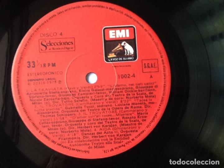 Discos de vinilo: L.P. VA PENSIERO, MELODÍAS INMORTALES DE G. VERDI. 8 DISCOS 33/ 1/3 RPM. NUEVOS. - Foto 8 - 175161508