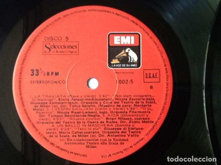 Discos de vinilo: L.P. VA PENSIERO, MELODÍAS INMORTALES DE G. VERDI. 8 DISCOS 33/ 1/3 RPM. NUEVOS. - Foto 9 - 175161508