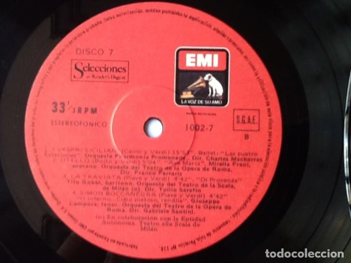 Discos de vinilo: L.P. VA PENSIERO, MELODÍAS INMORTALES DE G. VERDI. 8 DISCOS 33/ 1/3 RPM. NUEVOS. - Foto 11 - 175161508