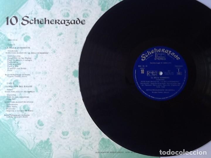 Discos de vinilo: L.P. SCHEHERAZADE UN FESTIVAL DE MÚSICA EXÓTICA. 10 DISCOS 33/ 1/3 RPM. NUEVOS. VER FOTOS. - Foto 4 - 175161585