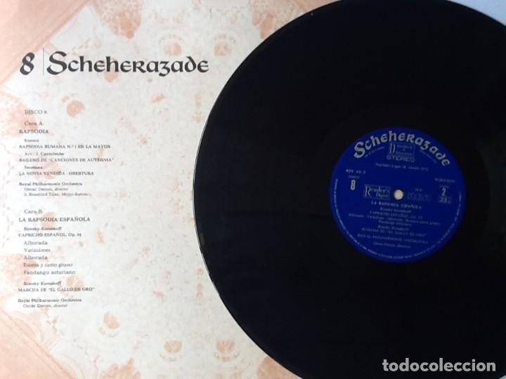 Discos de vinilo: L.P. SCHEHERAZADE UN FESTIVAL DE MÚSICA EXÓTICA. 10 DISCOS 33/ 1/3 RPM. NUEVOS. VER FOTOS. - Foto 6 - 175161585
