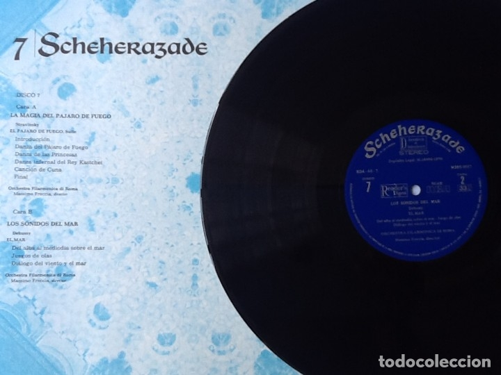 Discos de vinilo: L.P. SCHEHERAZADE UN FESTIVAL DE MÚSICA EXÓTICA. 10 DISCOS 33/ 1/3 RPM. NUEVOS. VER FOTOS. - Foto 7 - 175161585