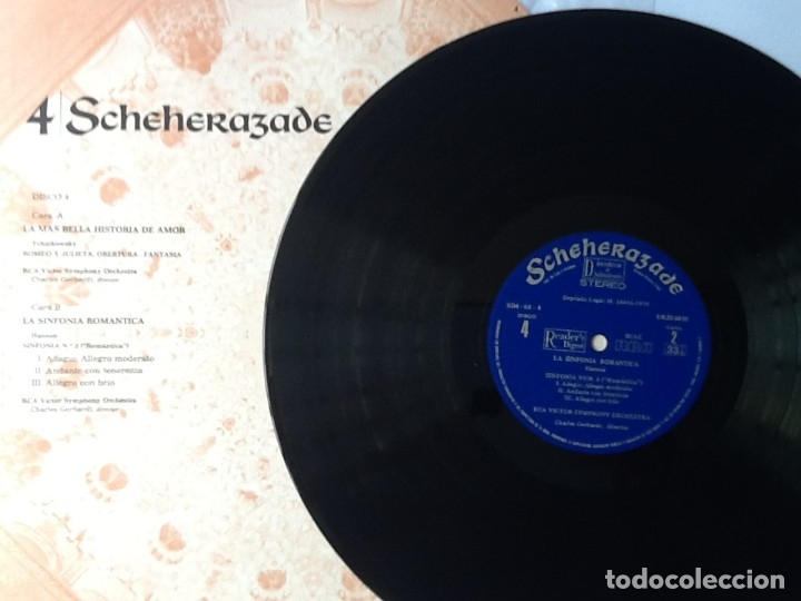 Discos de vinilo: L.P. SCHEHERAZADE UN FESTIVAL DE MÚSICA EXÓTICA. 10 DISCOS 33/ 1/3 RPM. NUEVOS. VER FOTOS. - Foto 10 - 175161585