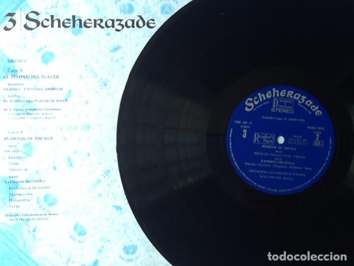Discos de vinilo: L.P. SCHEHERAZADE UN FESTIVAL DE MÚSICA EXÓTICA. 10 DISCOS 33/ 1/3 RPM. NUEVOS. VER FOTOS. - Foto 11 - 175161585